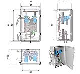 Термошкафы стеклопластиковые РизурБокс-С (RizurBox-C) классического раскрытия, фото 3