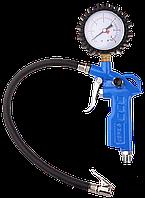"""Пистолет ЗУБР """"ЭКСПЕРТ"""" для подкачки шин, максимальное давление 15 атмосфер 06461"""