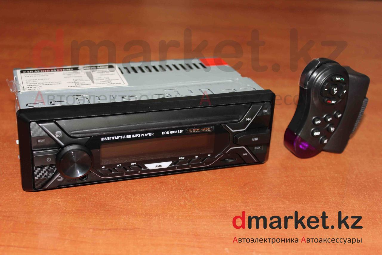 Автомагнитола 1DIN MVH-6031SBT, радио, MP3, Bluetooth, AUX