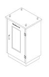 Термошкафы стеклопластиковые РизурБокс-С (RizurBox-C) модульные, фото 3