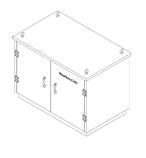 Термошкафы стеклопластиковые РизурБокс-С (RizurBox-C) модульные, фото 4