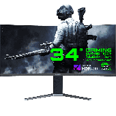 """Монитор ЖК 34"""" GameMax GMX34CKXQ UltraWide QHD"""