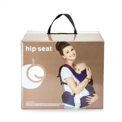 Рюкзак-кенгуру для переноски детей, цвет черный
