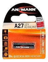 Алкалиновая батарейка ANSMANN A27 12V Premium