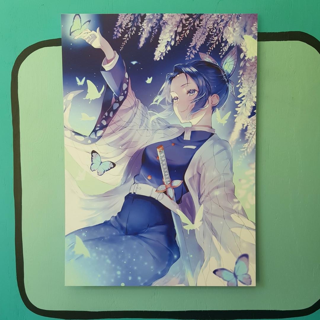 Постер Шинобу - Клинок Рассекающий Демонов