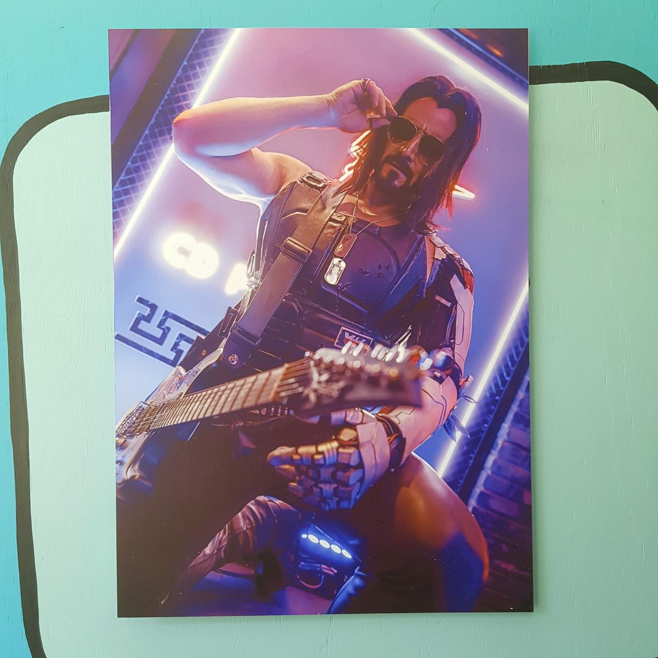Постер Джонни Сильверхенд - Cyberpunk 2077