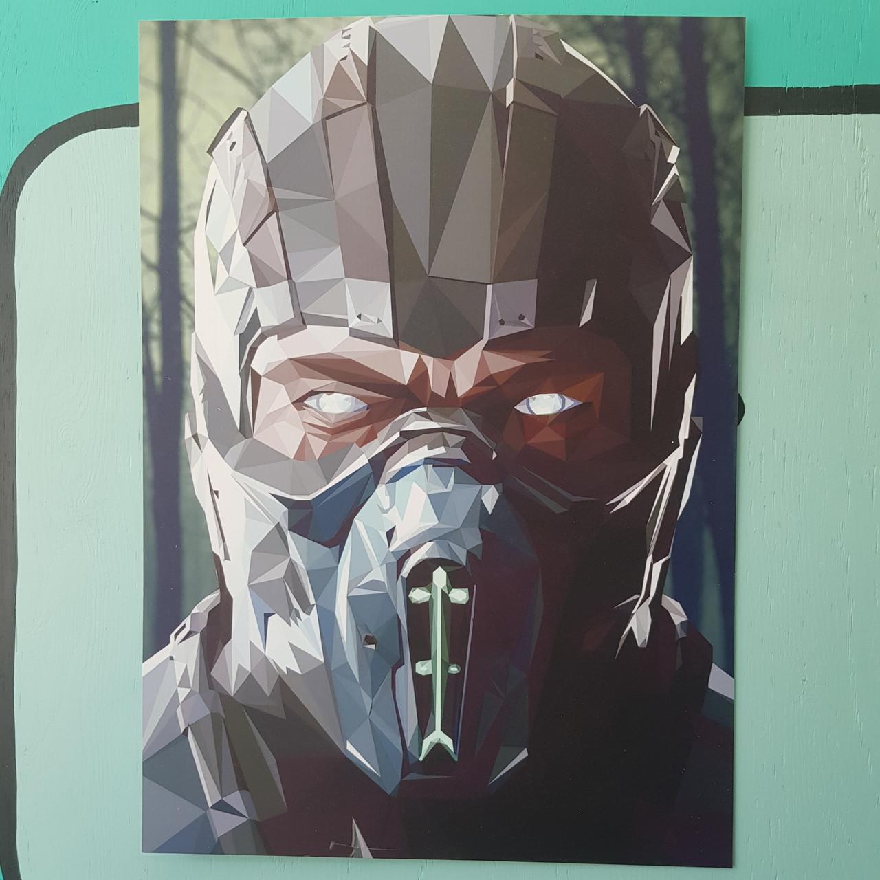 Постер Саб-Зиро - Mortal Kombat