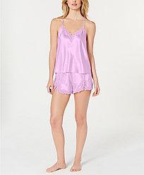 Inc International Concepts Женская пижама сияющая с шортами 2000000372662