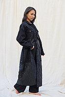 Комбинированое пальто с джинсой от Marco Moretti 48