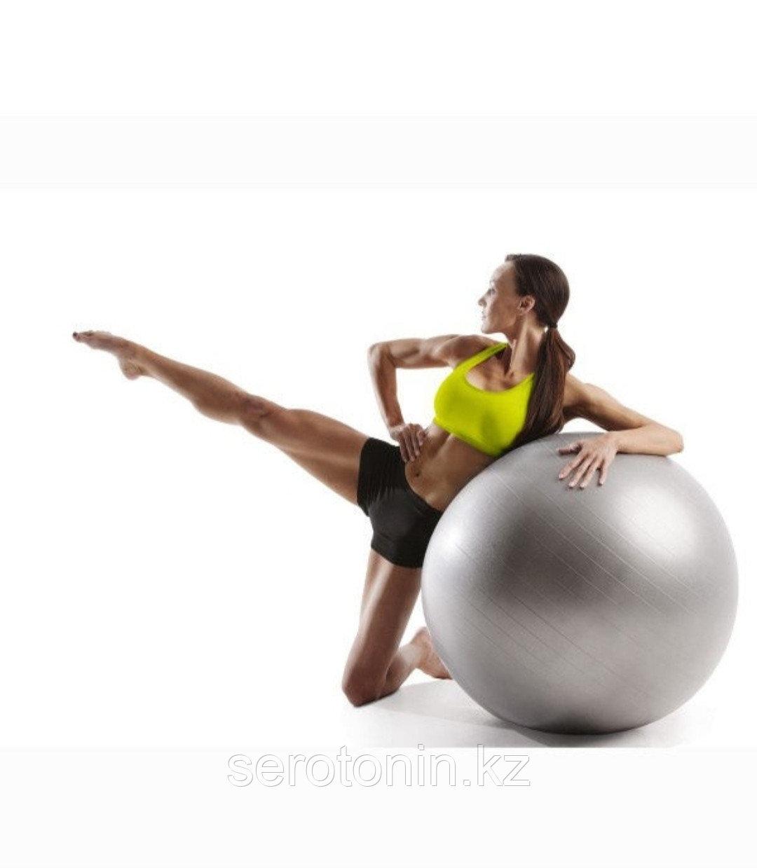 Мяч гимнастический (Фитбол) 65 см - фото 4