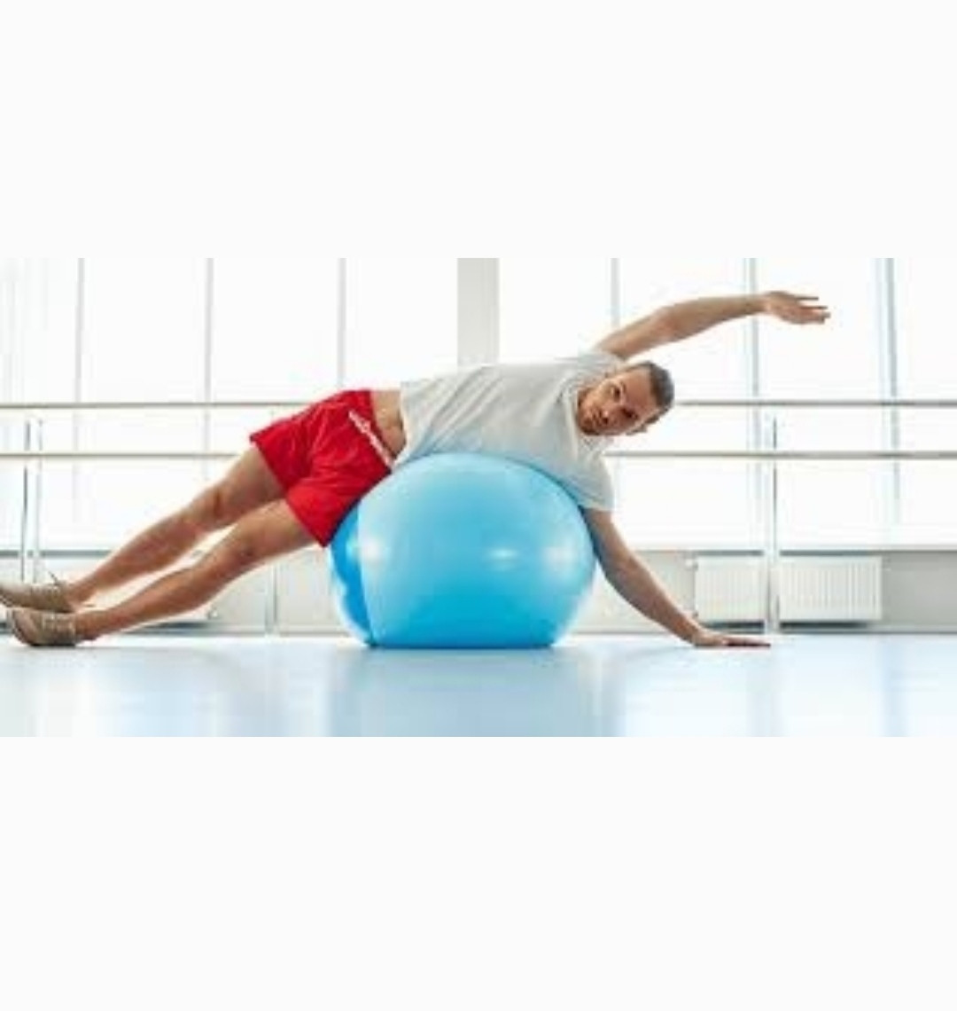Мяч гимнастический (Фитбол) 65 см - фото 5