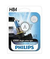 9006CVB1 HB4 12V 55W Philips Crystal Vision Штатная галогенная лампа