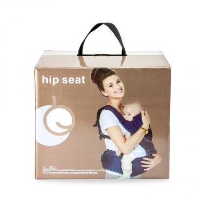 Рюкзак-кенгуру для переноски детей черный, фото 2