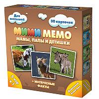 """Настольная игра """"Мими Мемо: Домашние животные"""", мамы, папы и детишки"""