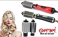 Фен-щетка для укладки волос Gemei GM 4827 1000W