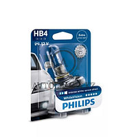 9006WHVB1 HB4 12V Philips White Vision Штатная галогенная лампа
