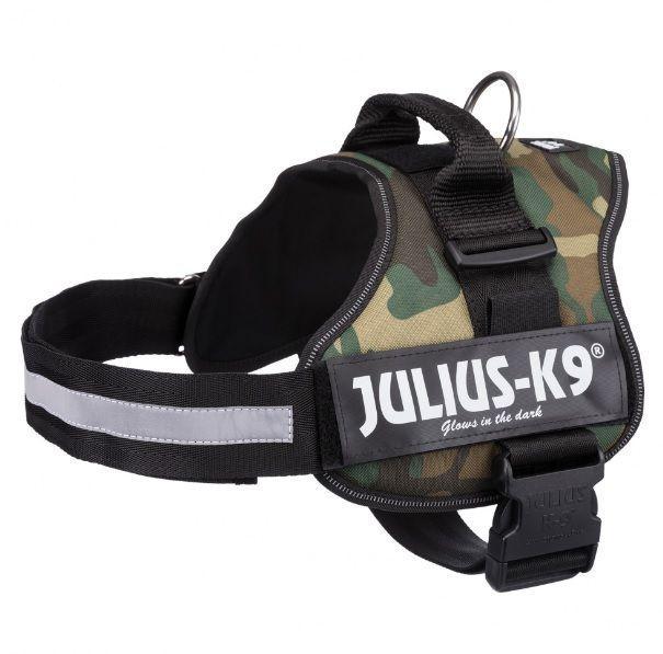 Шлейка. Julius-K9® шлейка для собак, 2/L–XL: 71–96 cm/50 mm, camouflage.