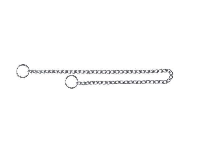 Ошейник-удавка для собак, метал, 55 cm/2.5 mm