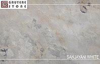 Каменный шпон Sanjayani White гибкий камень