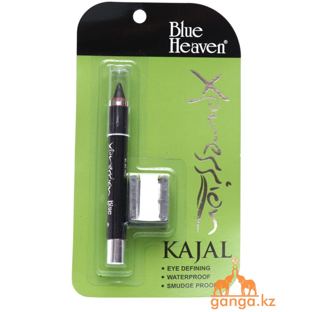 Сурьма (Каджал) подводка для глаз (Kajal Xpression BLUE HEAVEN), 2.5 гр (с точилкой)