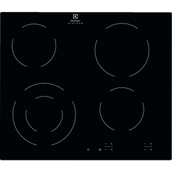 Встраиваемая Варочная панель 300 Radiant Hob- 4 Чёрного цвета 60 см