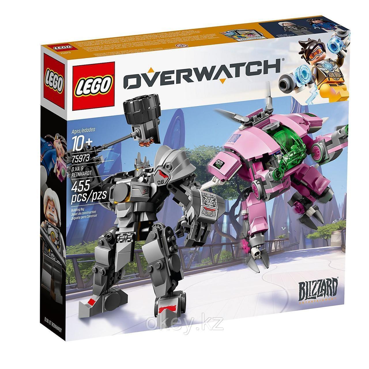 LEGO Overwatch: D.Va и Райнхардт 75973
