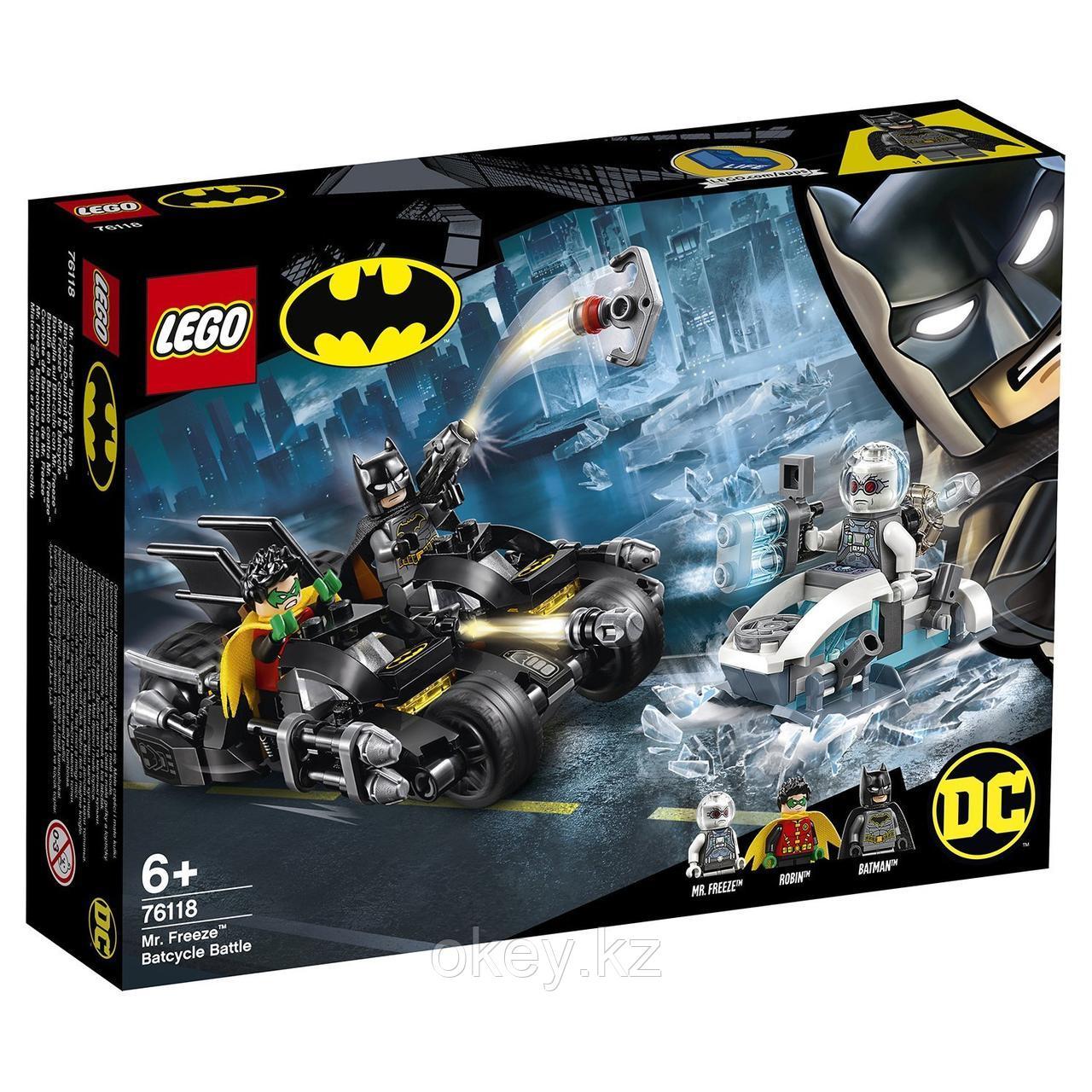 LEGO Super Heroes: Гонка на мотоциклах с мистером Фризом 76118