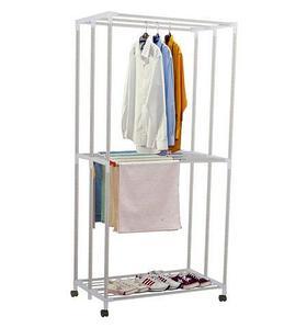 Сушилка складная для белья «Folding Clothes Hangers» трехуровневая