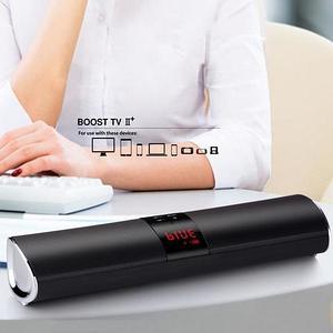 Саундбар портативный 3-в-1 KOLEER BOOST TV II с mp3-плеером и громкой связью {Bluetooth, AUX, USB и SD}