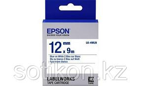 Лента Epson C53S654022 LK-4WLN Стандартная лента 12мм, Бел./Голуб., 9м
