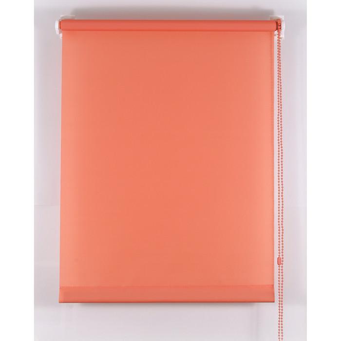 Рулонная штора «Комфортиссимо», размер 45х160 см, цвет терракот