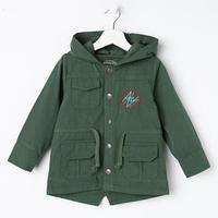 Куртка для мальчика, цвет хаки, рост 92 см