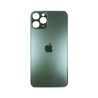 Задняя крышка apple iphone 11 pro, черное серебро
