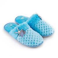 Тапочки женские, цвет голубой, размер 38