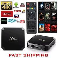 Tv-box X96mini 1000 каналов в подарок
