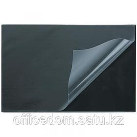 Подложка на стол с прозрачным покрытием Attache Economy, 530х660 мм, черный