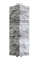 Угол Наружный Светло-серый 485х140х140 мм Доломит ДАЧНЫЙ FINEBER