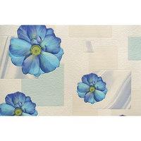 Обои на бумажной основе Elysium 97504   голубой цветок 0,53х10м (комплект из 2 шт.)