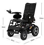 Инвалидная коляска электр.,COSIN COLOR 220D, 24v 900w. Аккум. гелевый 24v 40A/H. До 180 кг. Для полных людей., фото 2