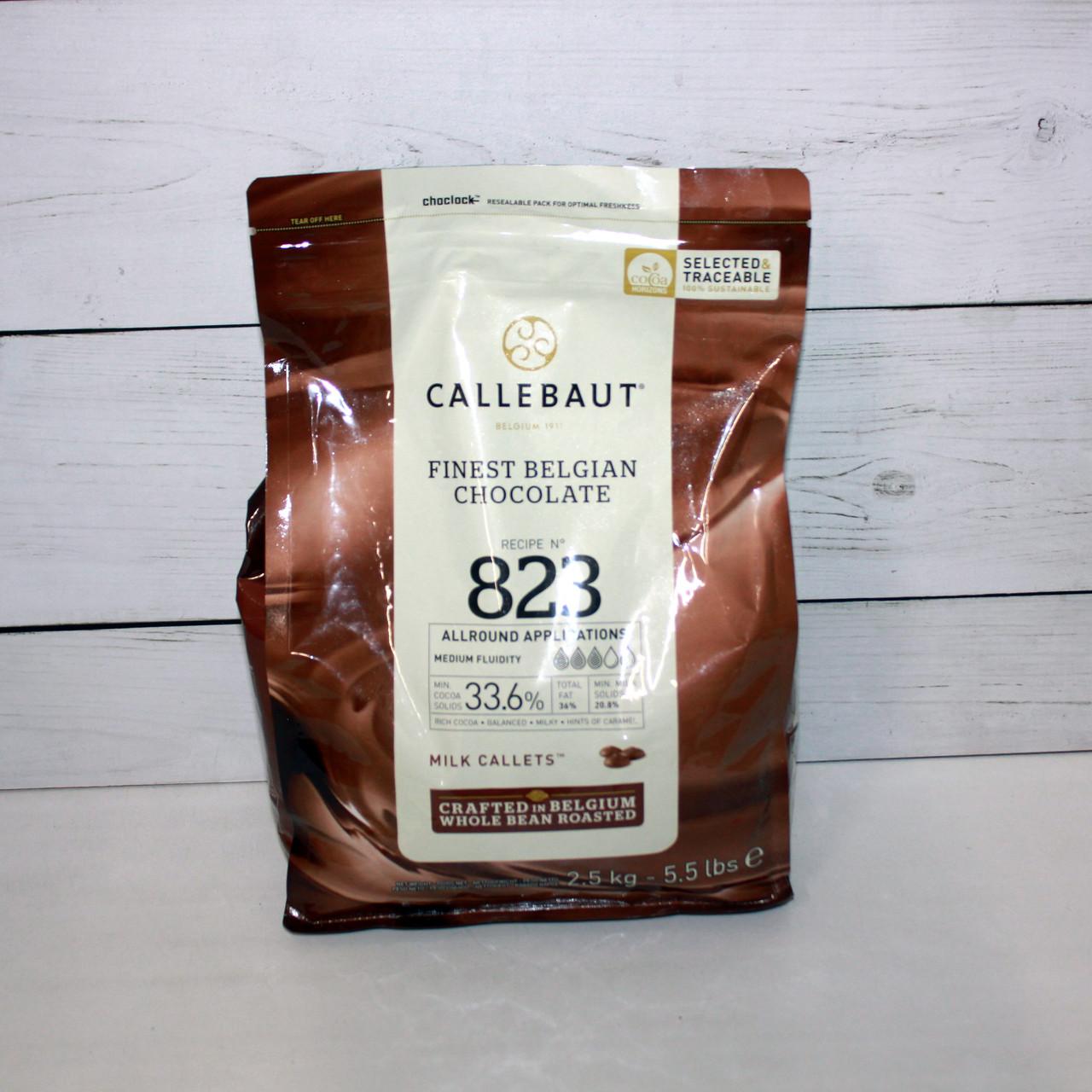 Молочный шоколад 33,6% Callebaut 500 г