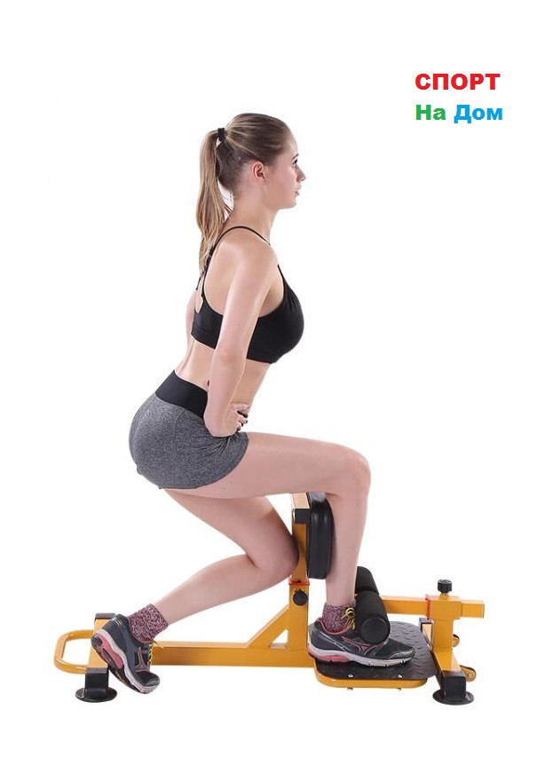 Тренажер для ног и пресса (squat machina)