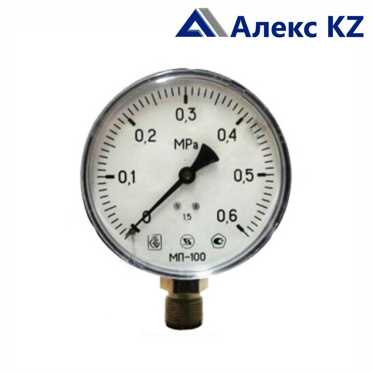 Манометр МП-100 радиальный Дк100 1,6МПа М20*1,5 Минск
