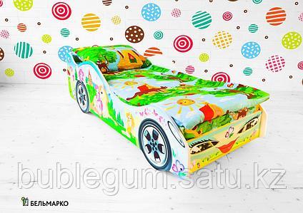 Детская кровать-машина «Принцесса»
