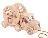 Машина-каталка деревянная