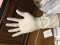 Перчатки медицинские, хирургические, опудренные, стерильные. Размеры L
