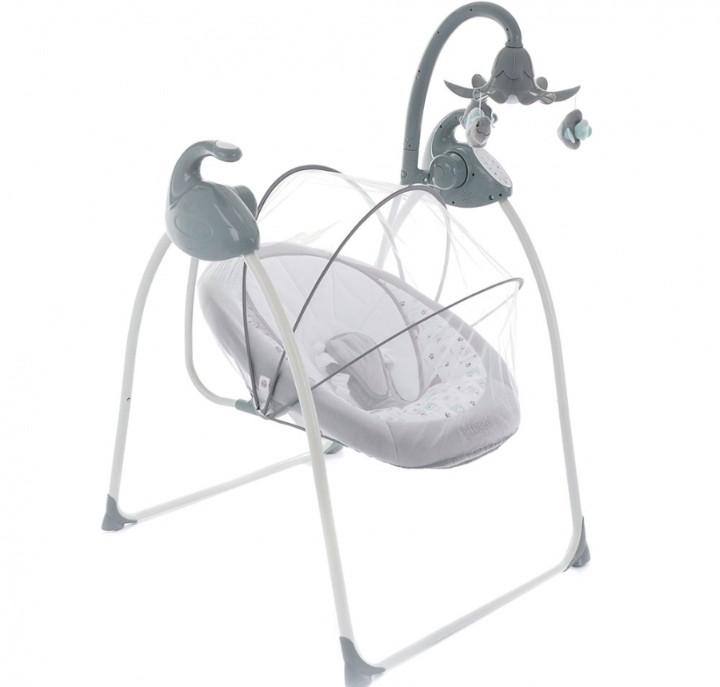 Электрокачели Pituso Carino Grey/Серый Мишки