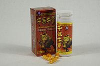 Красный бык виагра средство для повышения потенции, банка 3500 мг*10 таблеток