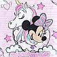 """Детское постельное бельё 1,5 сп """"Minnie Mouse"""" с единорогом, фото 4"""