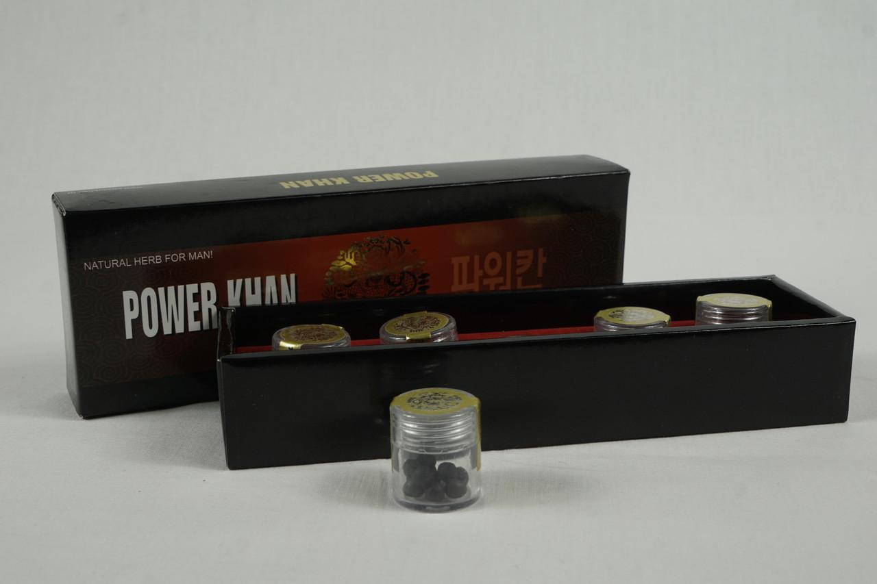 Могучий хан виагра средство для повышения потенции, 5 баночек*10 драже, 181гр