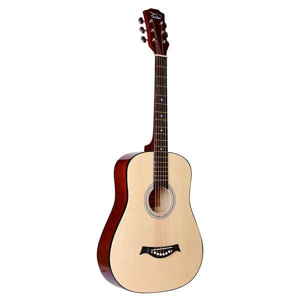 Акустическая гитара, с вырезом, цвет натуральный, Fante FT-D38-N